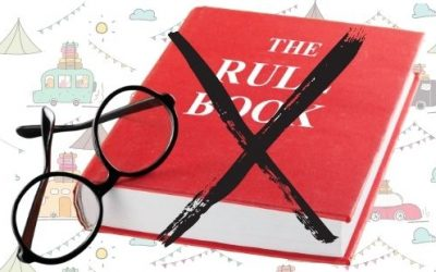 CHALLENGE:  Throw Away The Rule Book